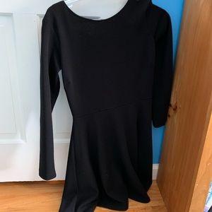 FINAL SALE black longsleeve design lab dressn